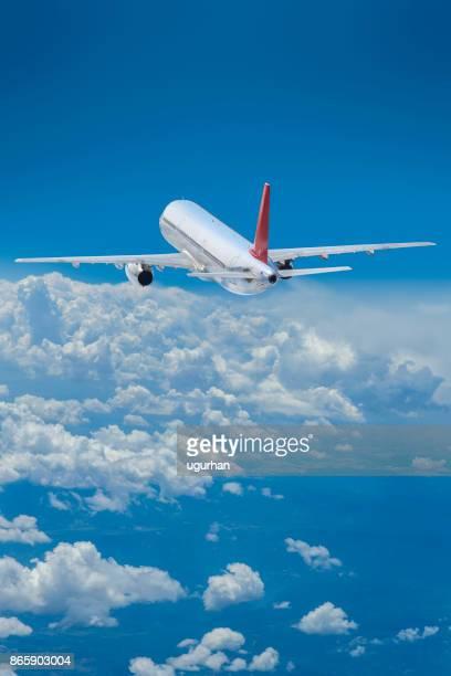 飛行機 - 縦位置 ストックフォトと画像