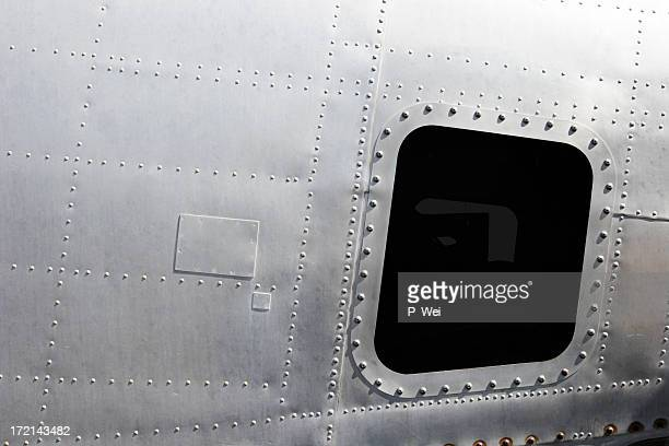 airplane! retro fuselage - fuselage stock photos and pictures