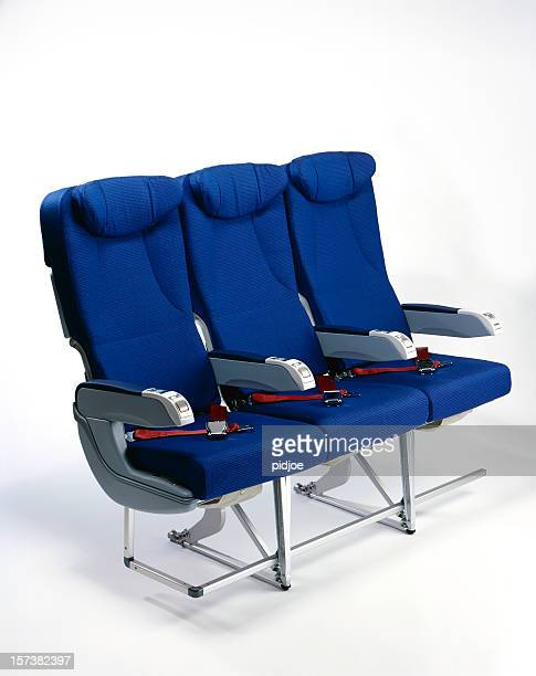airplane seats - seat stock pictures, royalty-free photos & images