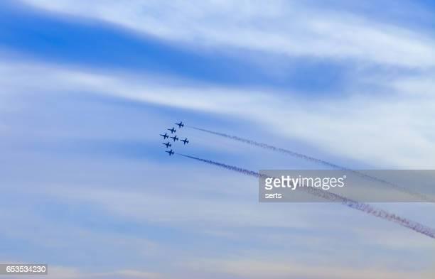 Airplane Show in Istanbul,Turkey