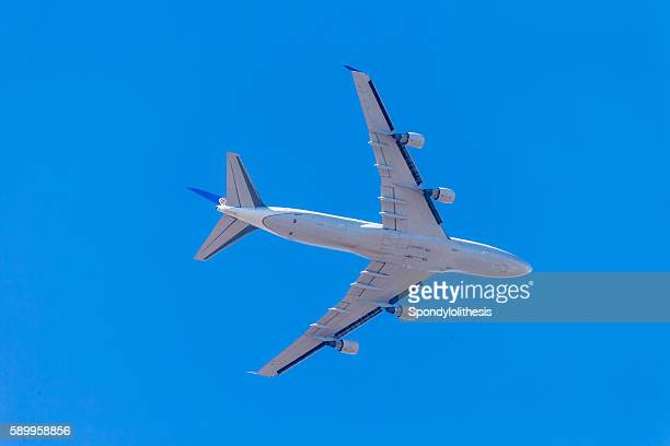 Airplane take off from t San Francisco Airport