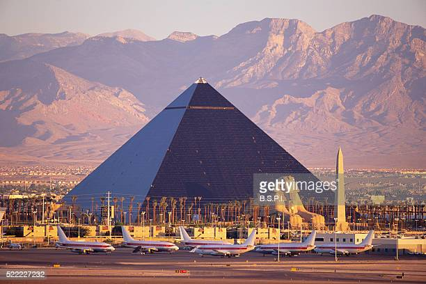 Airplanes by Luxor Casino in Las Vegas
