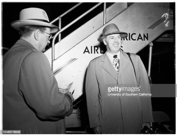 Airport 06 January 1952 Doctor Earl W Dorrance