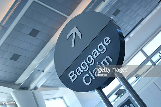airport baggage sign - checked pattern stock pictures, royalty-free photos & images
