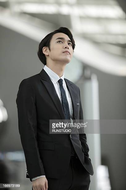 Airport Business man