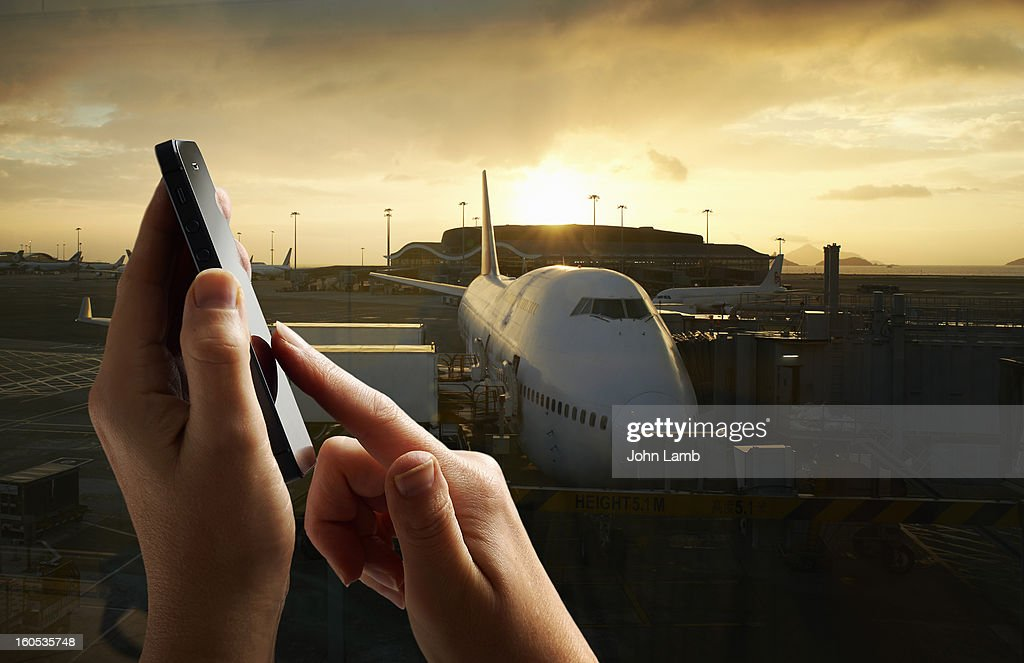 Airport calling : Foto de stock