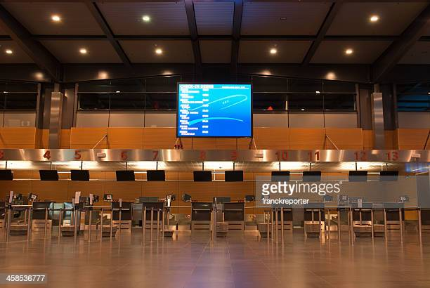 Airport Check-in Counters Terminal