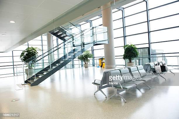 airport departure waiting area