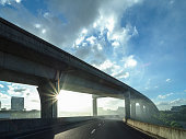 airport elevated freeway