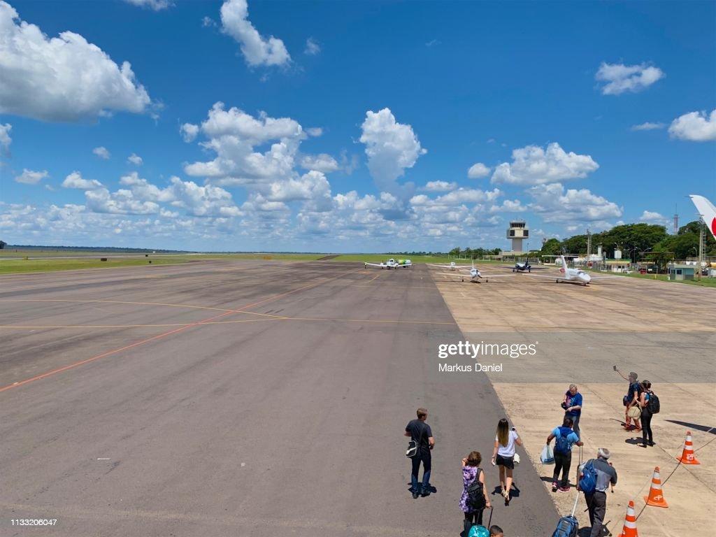 Airport Foz do Iguacu : Foto de stock