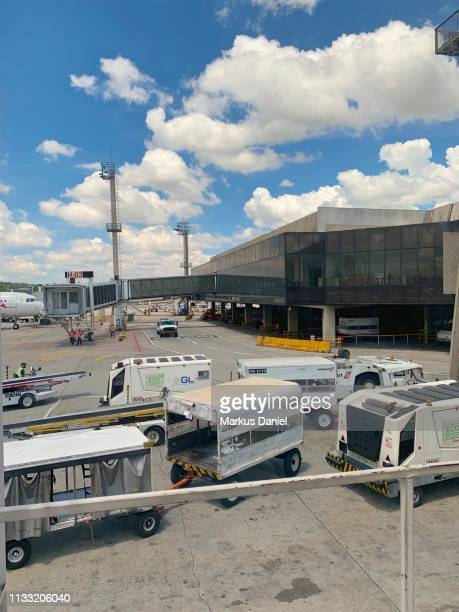 "airport guarulhos sao paulo terminal exterior - ""markus daniel"" stock pictures, royalty-free photos & images"