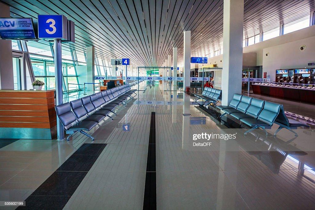 Airport interior : Stock Photo