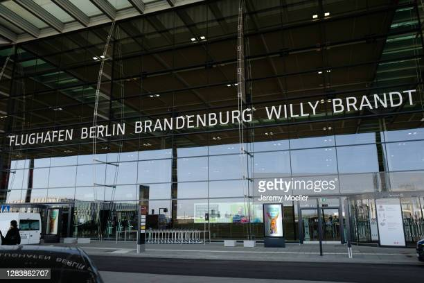 Airport is seen on November 03, 2020 in Berlin, Germany.