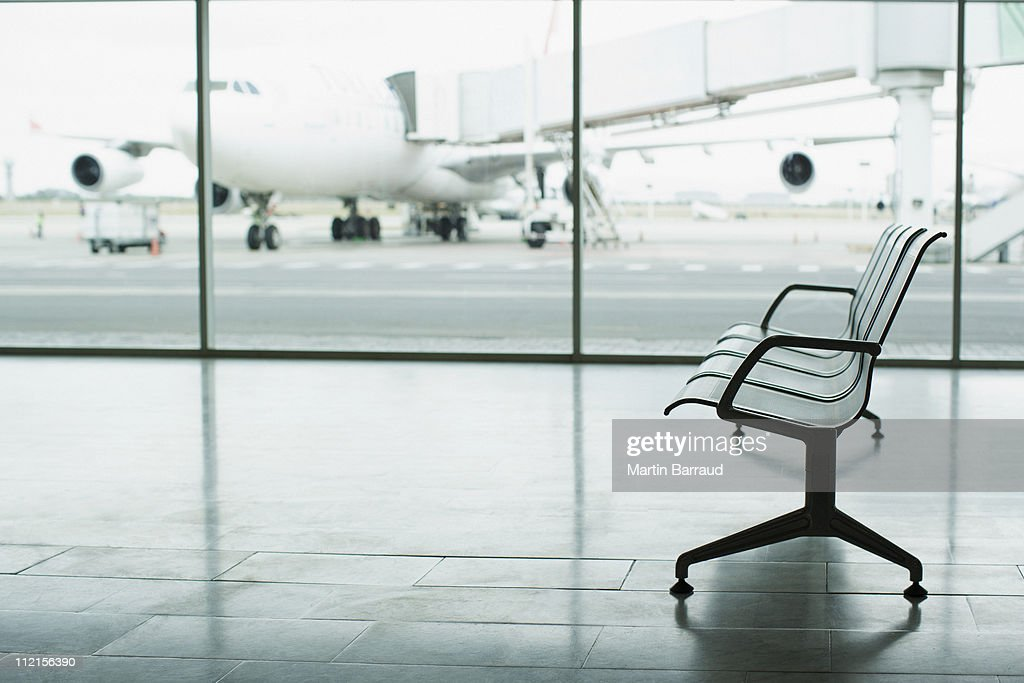 Airport lounge : Stock Photo