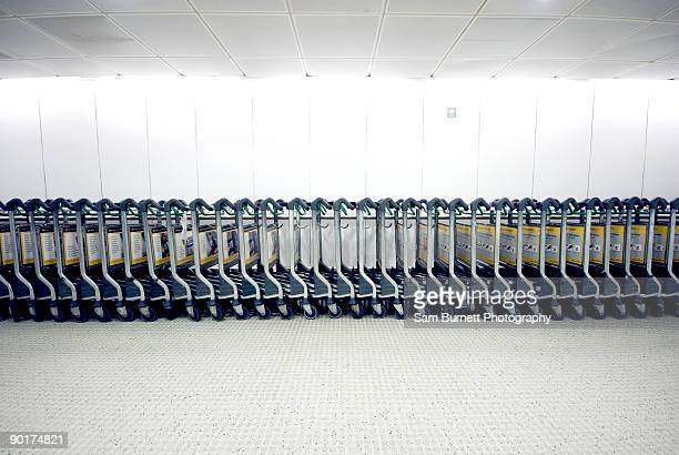Airport Luggage Trollies