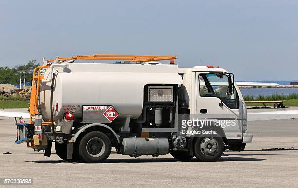 Airport mobile fuel truck