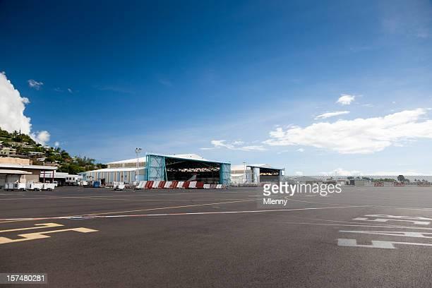 Airport Papeete Tahiti French Polynesia