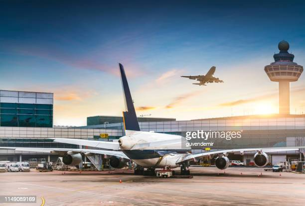 airport - airport stock pictures, royalty-free photos & images
