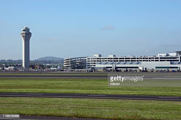 airport - control tower stock pictures, royalty-free photos & images