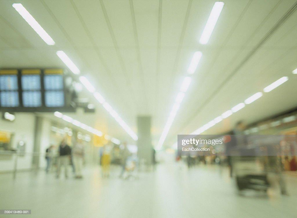 Airport (defocussed) : Stock Photo