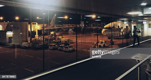 cdg airport - charles de gaulle airport stock photos and pictures