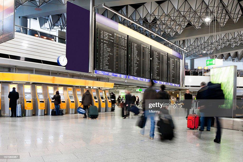 Flughafen Rush : Stock-Foto