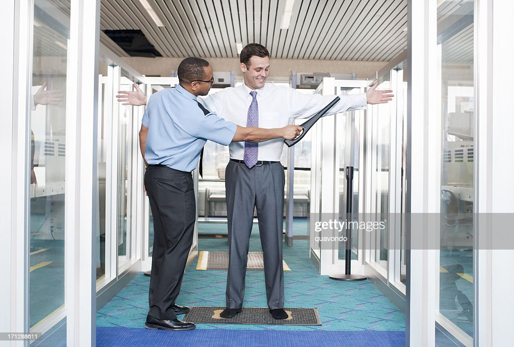 Airport Security Check Point : Stock Photo