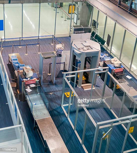 Airport Security, Luggage And Body Scanner