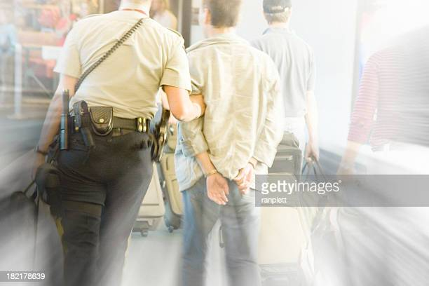 airport security - binge drinking stock photos and pictures