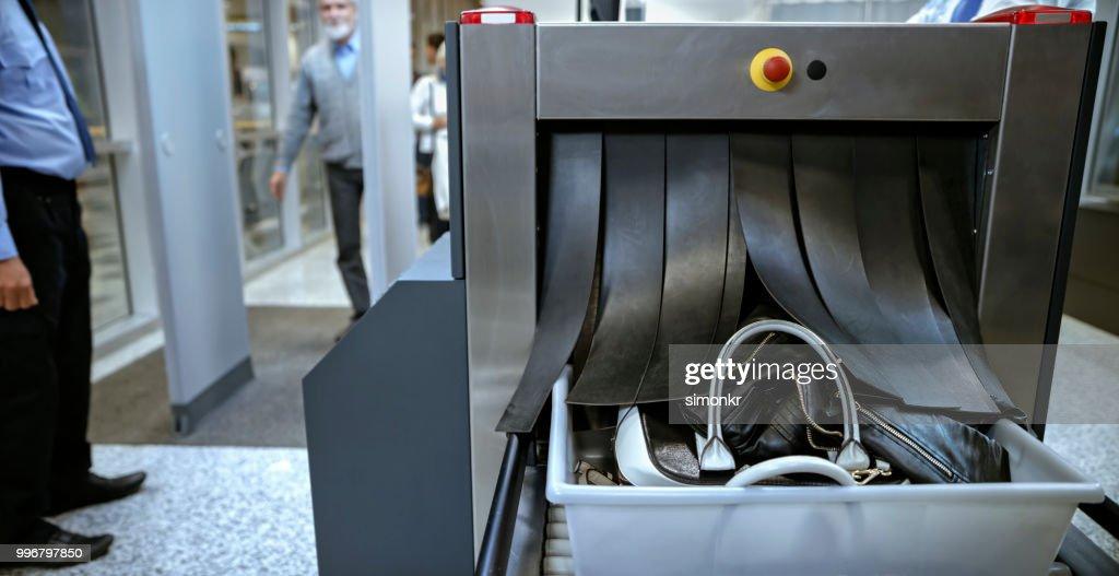 Aeropuerto de seguridad : Foto de stock