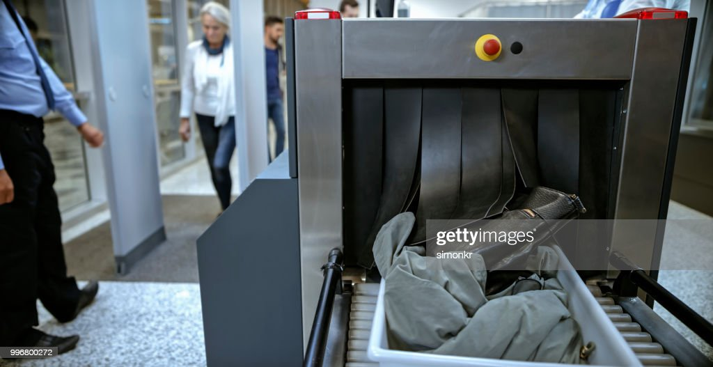 Airport security : Stock Photo