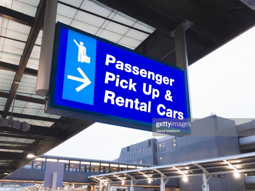 Airport signage : Stock Photo
