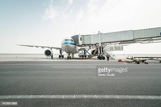 Airport tarmac