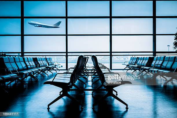 airport terminal - airport terminal stock photos and pictures