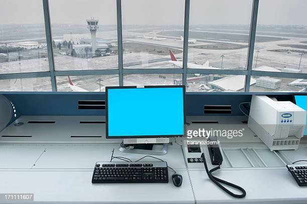Airport Tower Innenansicht