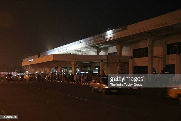 Airport workers strike at Kolkata in West Bengal India