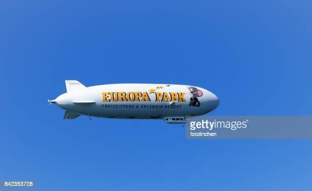 Airship in Friedrichshafen
