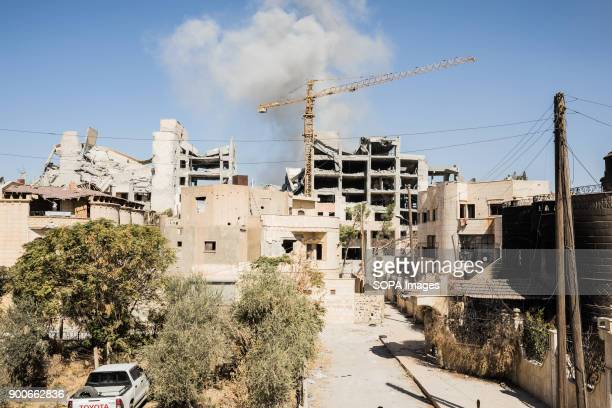Airstrike hits an IS position close to the Old City in Raqqa The Syrian civil war has been carried on for more than 6 years and it has caused more...