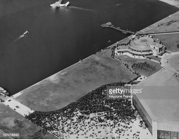 Airview Of The Laguardia Airport In New York
