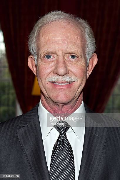 US Airways Capt Chesley 'Sully' Sullenberger at the presentation of the National Order of the Legion of Honour Officier Award to Chesley Sullenberger...