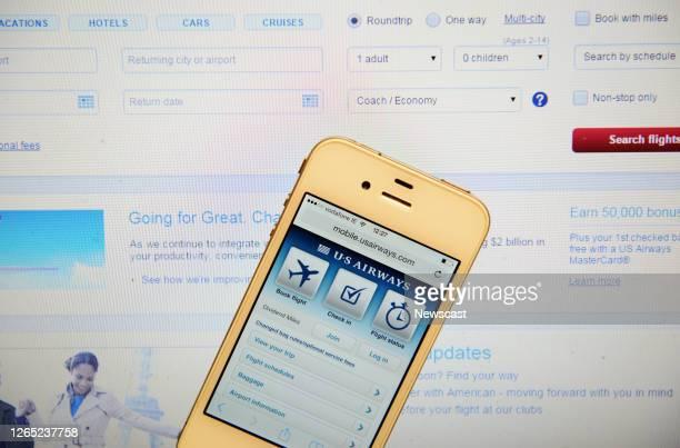 Airways Website and IPhone.