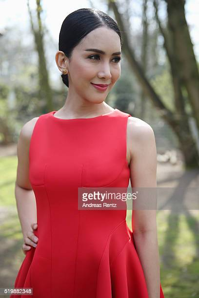 Aisawanya Areyawattana poses for a portrait at the 52th Grimme Award on April 8 2016 in Marl Germany