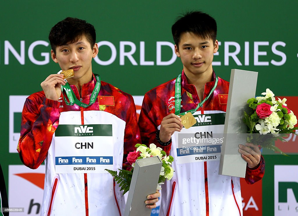 FINA/NVC Diving World Series 2015 - Day One : News Photo