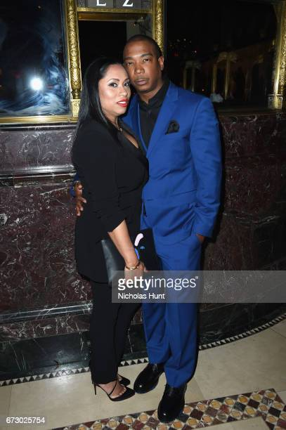 Aisha Atkins and Ja Rule attend the City Harvest's 23rd Annual Evening Of Practical Magic at Cipriani 42nd Street on April 25 2017 in New York City