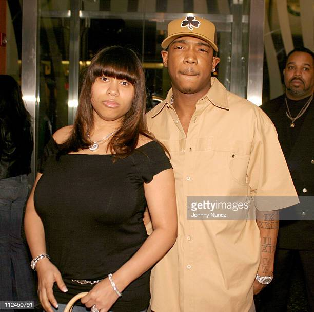 Aisha Atkins and Ja Rule during Ja Rule's Birthday Party at LQ Nightclub in New York City New York United States