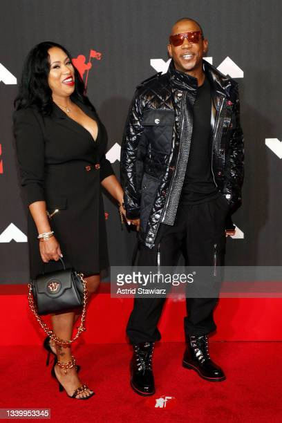 Aisha Atkins and Ja Rule the 2021 MTV Video Music Awards at Barclays Center on September 12, 2021 in the Brooklyn borough of New York City.
