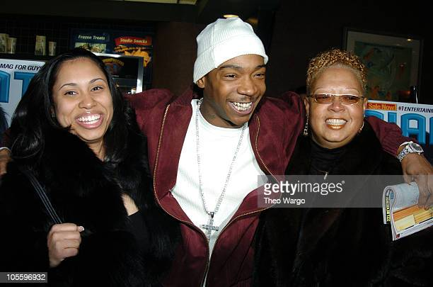 Aisha Atkins Ja Rule and mother Debra Atkins during Assault On Precinct 13 New York City Screening Inside Arrivals at Clearview Chelsea West Cinemas...