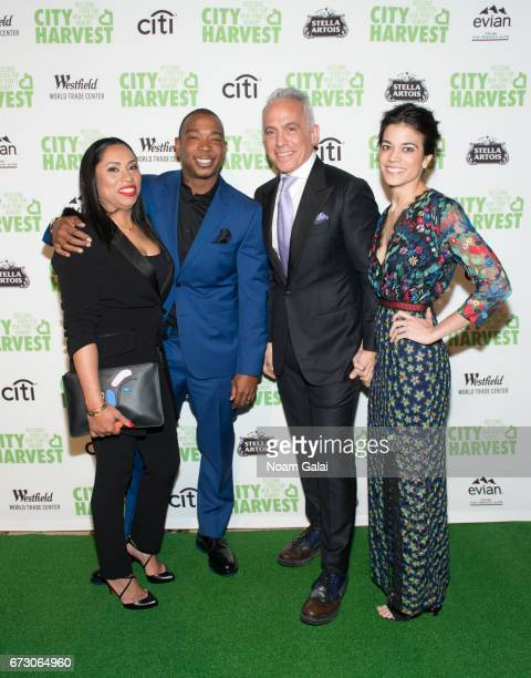 Aisha Atkins Ja Rule chef Geoffrey Zakarian and Margaret Anne Williams attend the 23rd Annual City Harvest An Evening of Practical Magic Gala at...