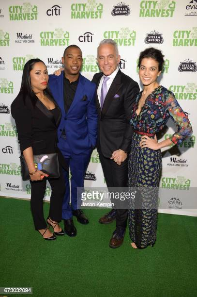 Aisha Atkins Ja Rule Honoree and Chef Geoffrey Zakarian and Margaret Anne Williams attend the City Harvest's 23rd Annual Evening Of Practical Magic...