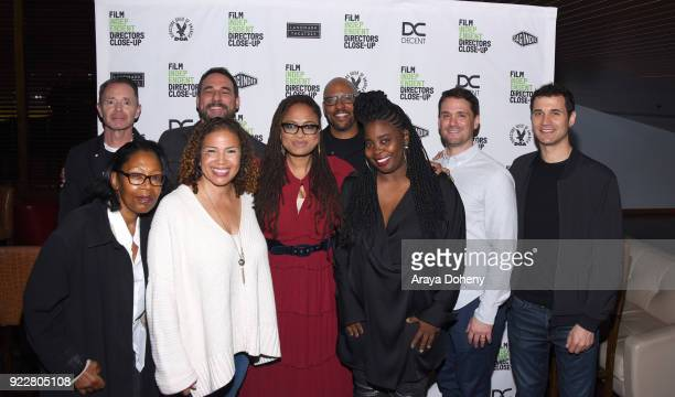 Aisha Coley Tobias Schliessler Alison Taylor Richard McBride Ava DuVernay JP Jones Kimberly Kimble Spencer Avarice and Ramin Djawadi attend the Film...